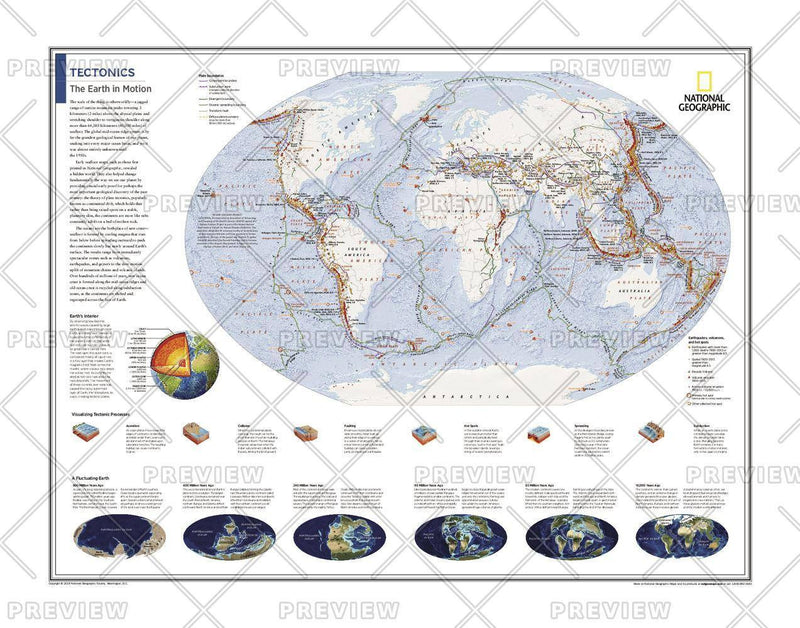 Tectonics: The Earth in Motion - Atlas of the World, 10th Edition