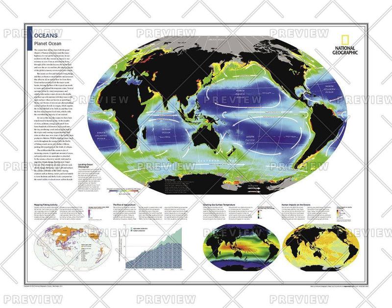 Oceans: Planet Ocean - Atlas of the World, 10th Edition