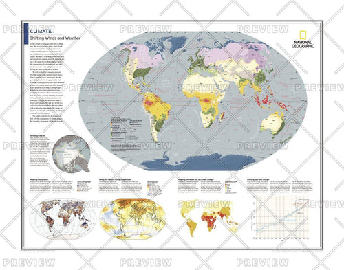Climate: Shifting Winds and Weather - Atlas of the World, 10th Edition