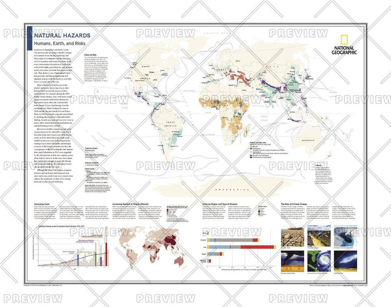 Natural Hazards: Humans, Earth, and Risks - Atlas of the World, 10th Edition