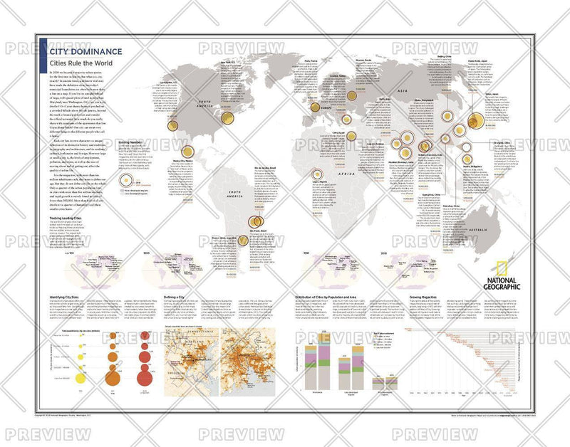 City Dominance: Cities Rule the World - Atlas of the World, 10th Edition