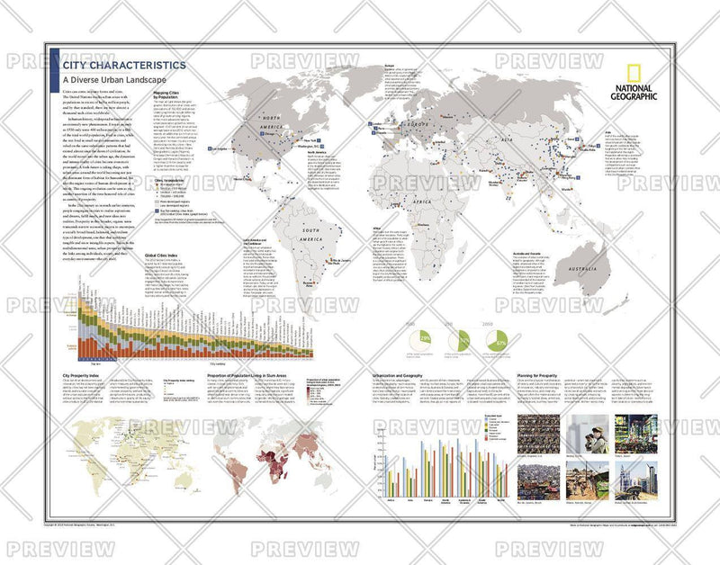City Characteristics: A Diverse Urban Landscape - Atlas of the World, 10th Edition