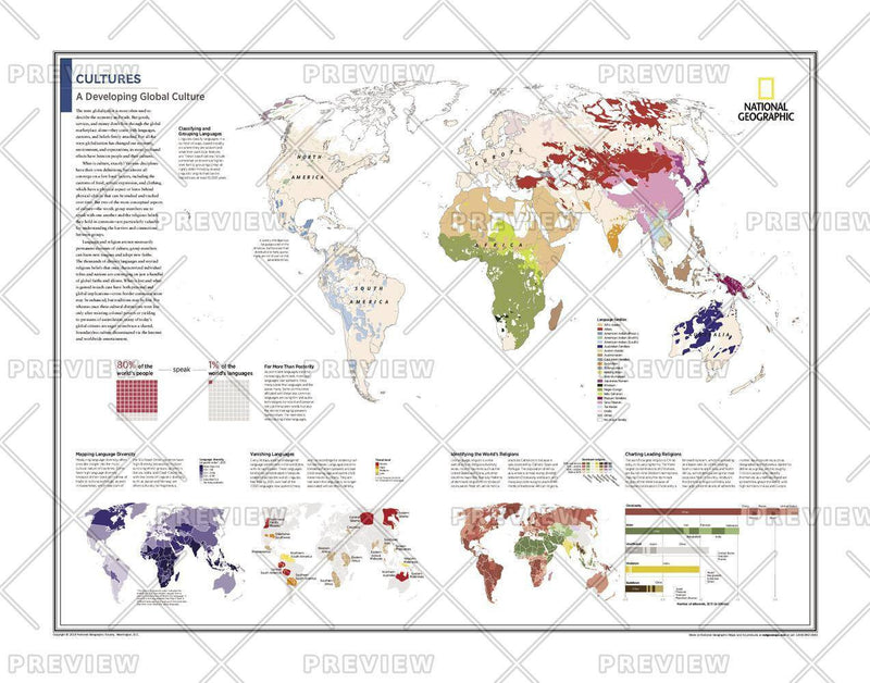 Cultures: A Developing Global Culture - Atlas of the World, 10th Edition