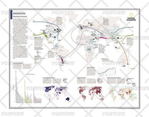 Migration: Moving to Survive - Atlas of the World, 10th Edition