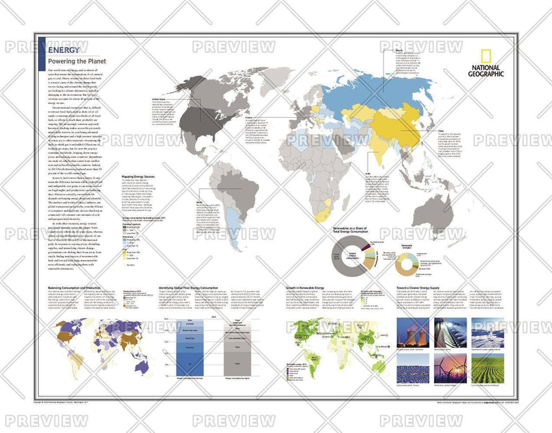 Energy: Powering the Planet - Atlas of the World, 10th Edition