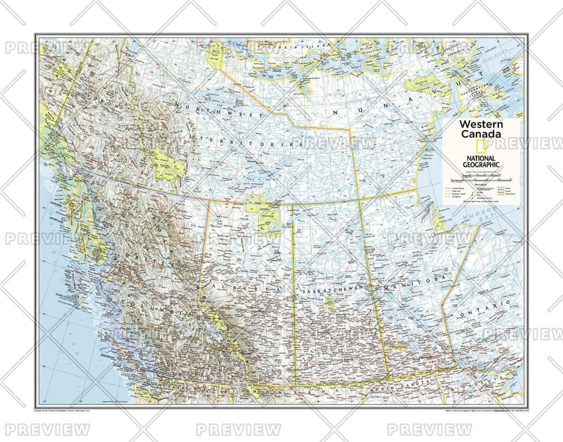 Western Canada - Atlas of the World, 10th Edition