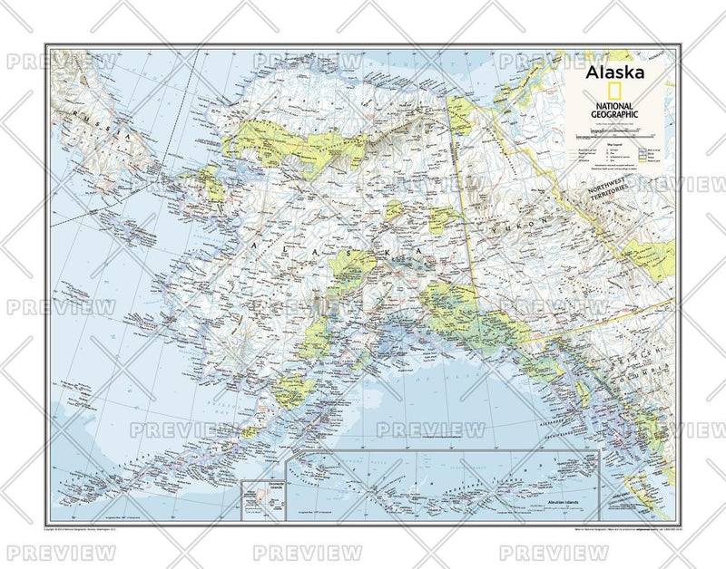 Alaska - Atlas of the World, 10th Edition