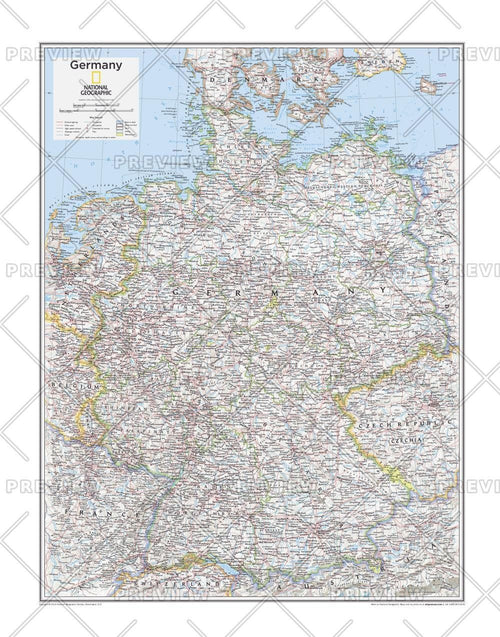 Germany - Atlas of the World, 10th Edition