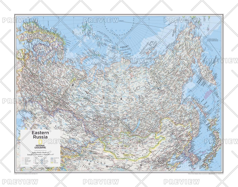 Eastern Russia - Atlas of the World, 10th Edition
