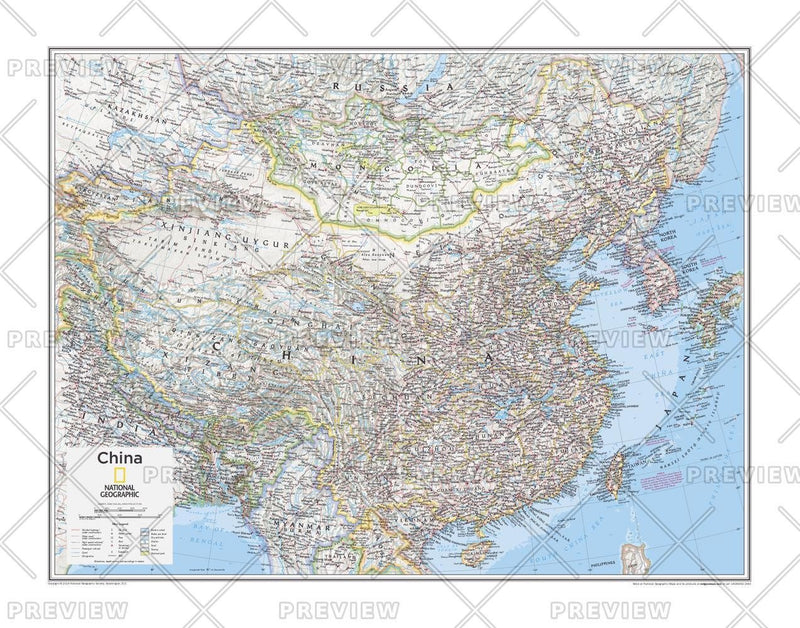 China - Atlas of the World, 10th Edition
