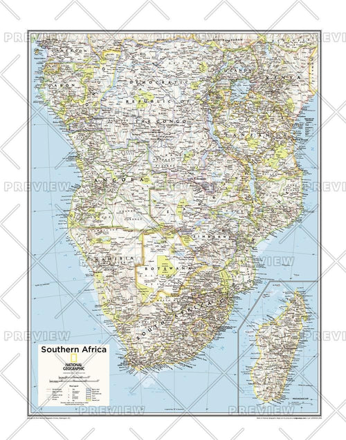 Southern Africa - Atlas of the World, 10th Edition
