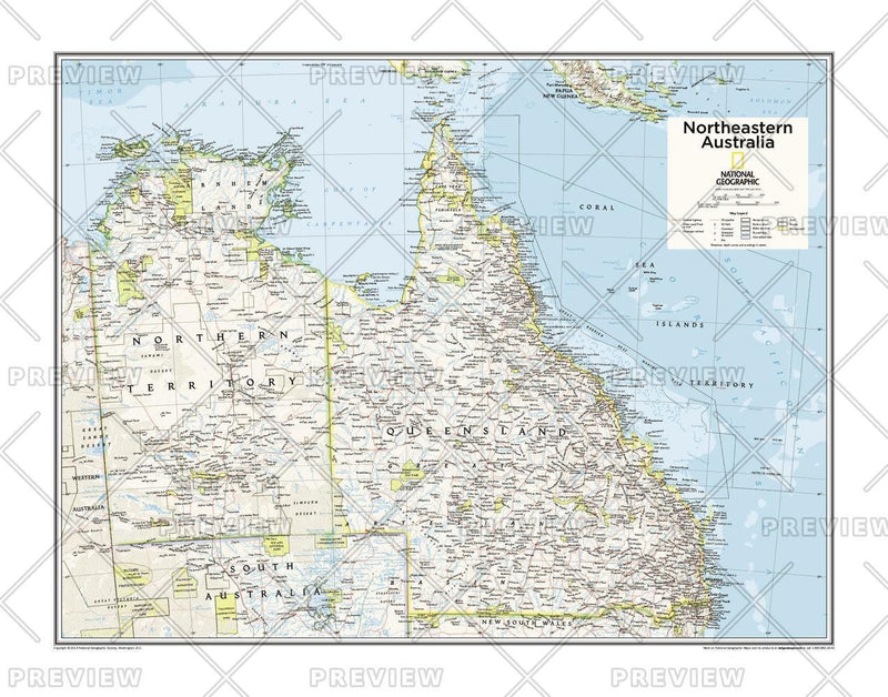 Northeastern Australia - Atlas of the World, 10th Edition