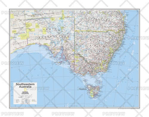 Southeastern Australia - Atlas of the World, 10th Edition