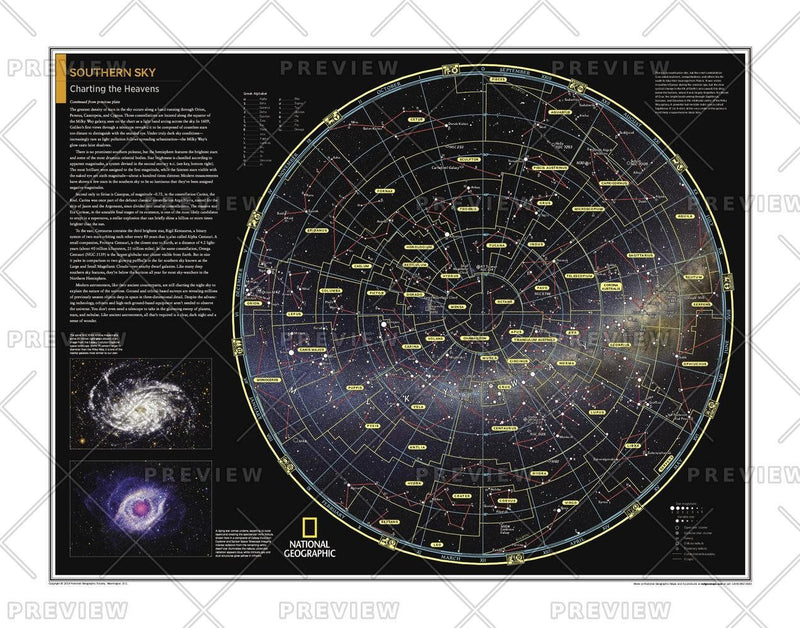 Southern Sky: Charting the Heavens - Atlas of the World, 10th Edition