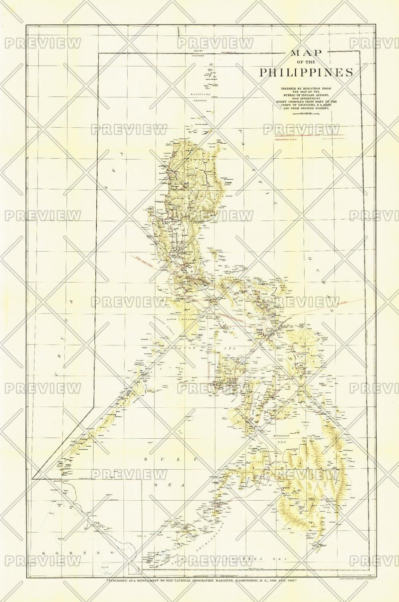 Philippines - Published 1905