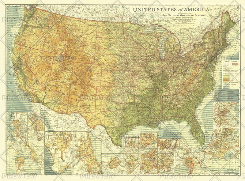 United States of America - Published 1923