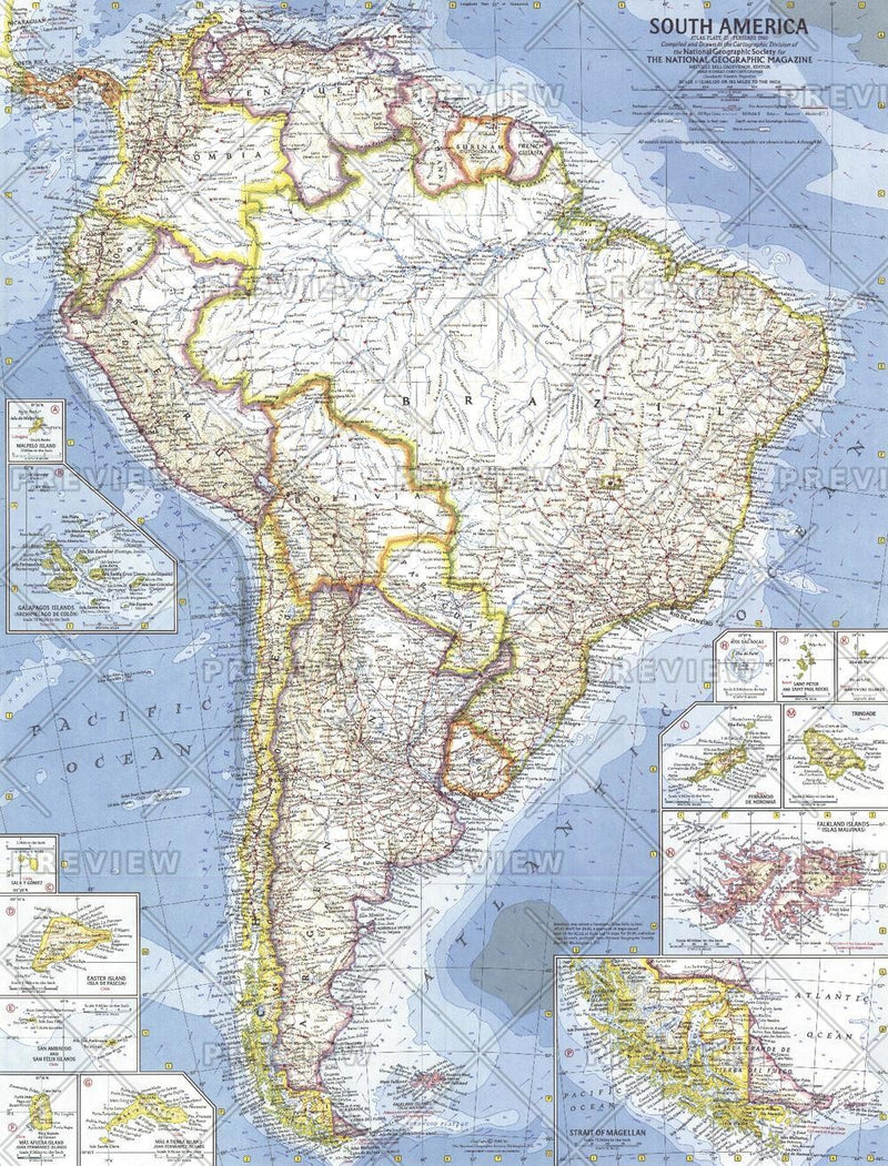 South America  -  Published 1960