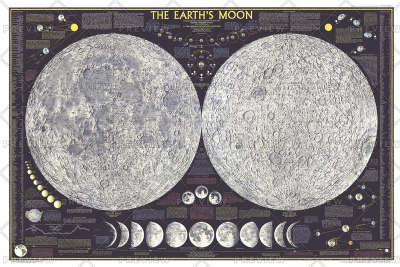 Earths Moon  -  Published 1969