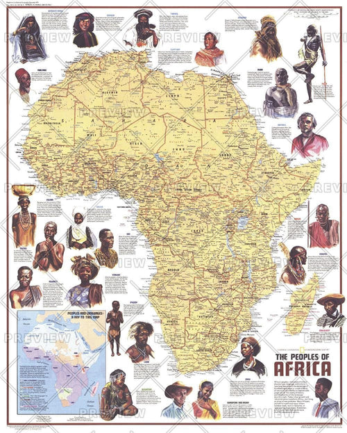 Peoples of Africa  -  Published 1971
