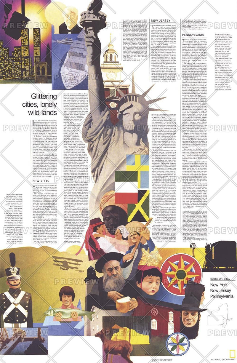 Close-up USA, Northeast Theme - Published 1978