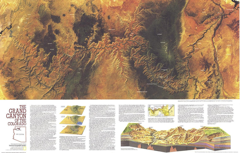 Grand Canyon of Colorado  -  Published 1978