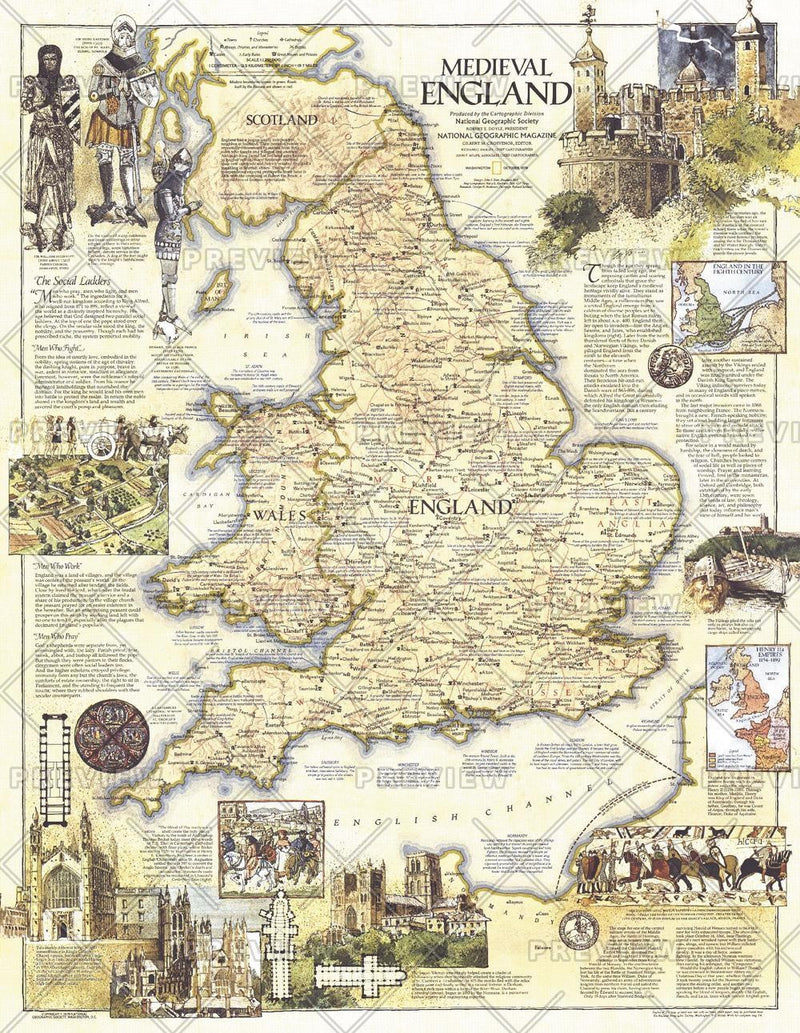 Medieval England  -  Published 1979