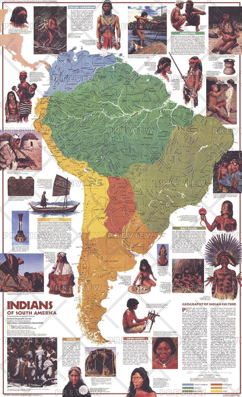 Indians of South America  -  Published 1982