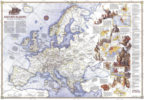 History of Europe, the Major Turning Points  -  Published 1983