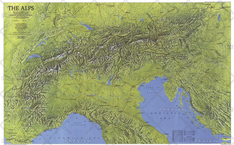 The Alps - Published 1985
