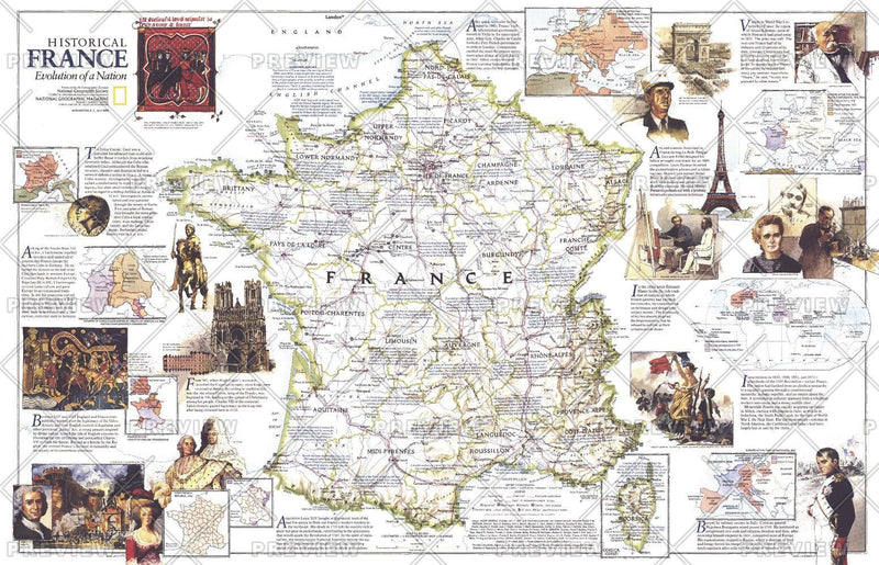 Historical France  -  Published 1989