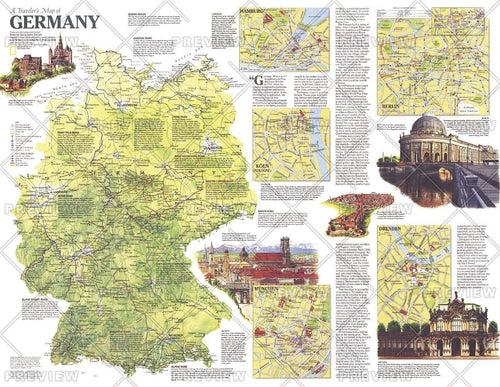 Travelers   of Germany - Published 1991