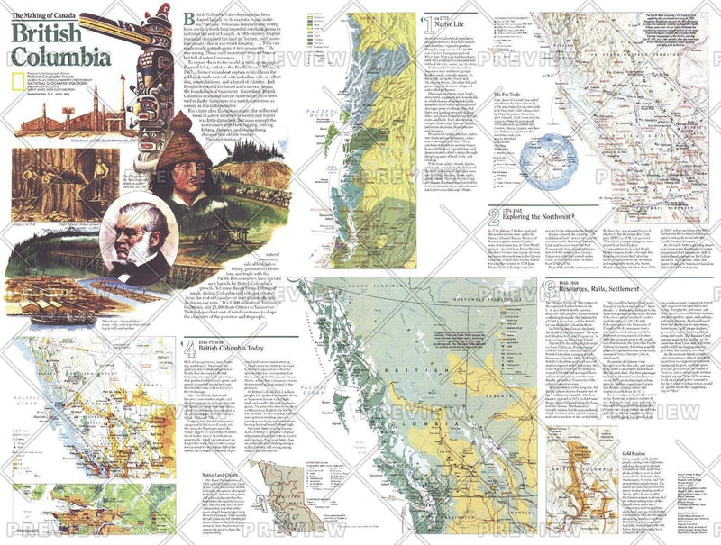 Making of Canada, British Columbia Theme - Published 1992