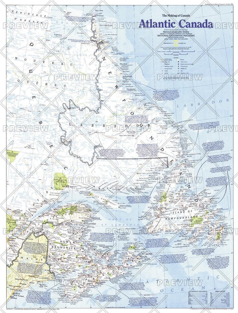 Making of Canada, Atlantic Canada  -  Published 1993