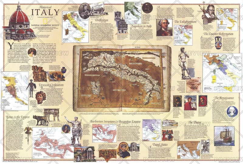 Historical Italy Theme - Published 1995