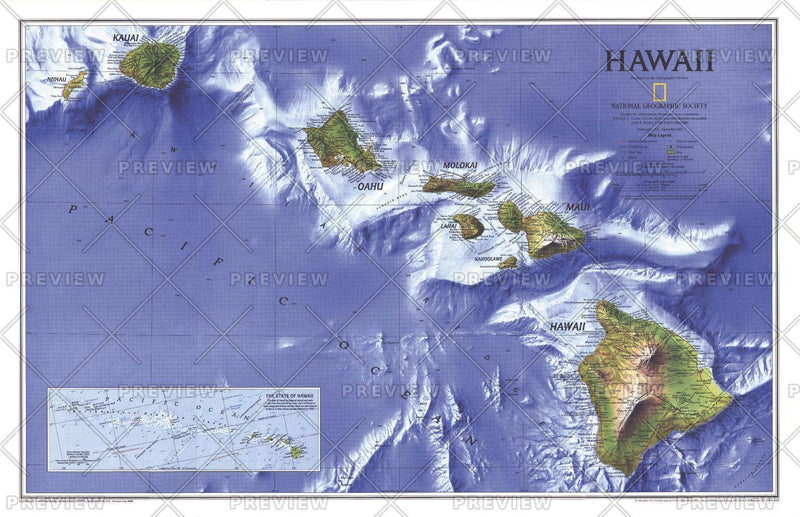 Hawaii  -  Published 1995