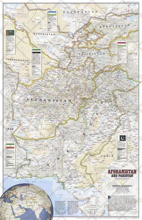 Afghanistan and Pakistan - Published 2001