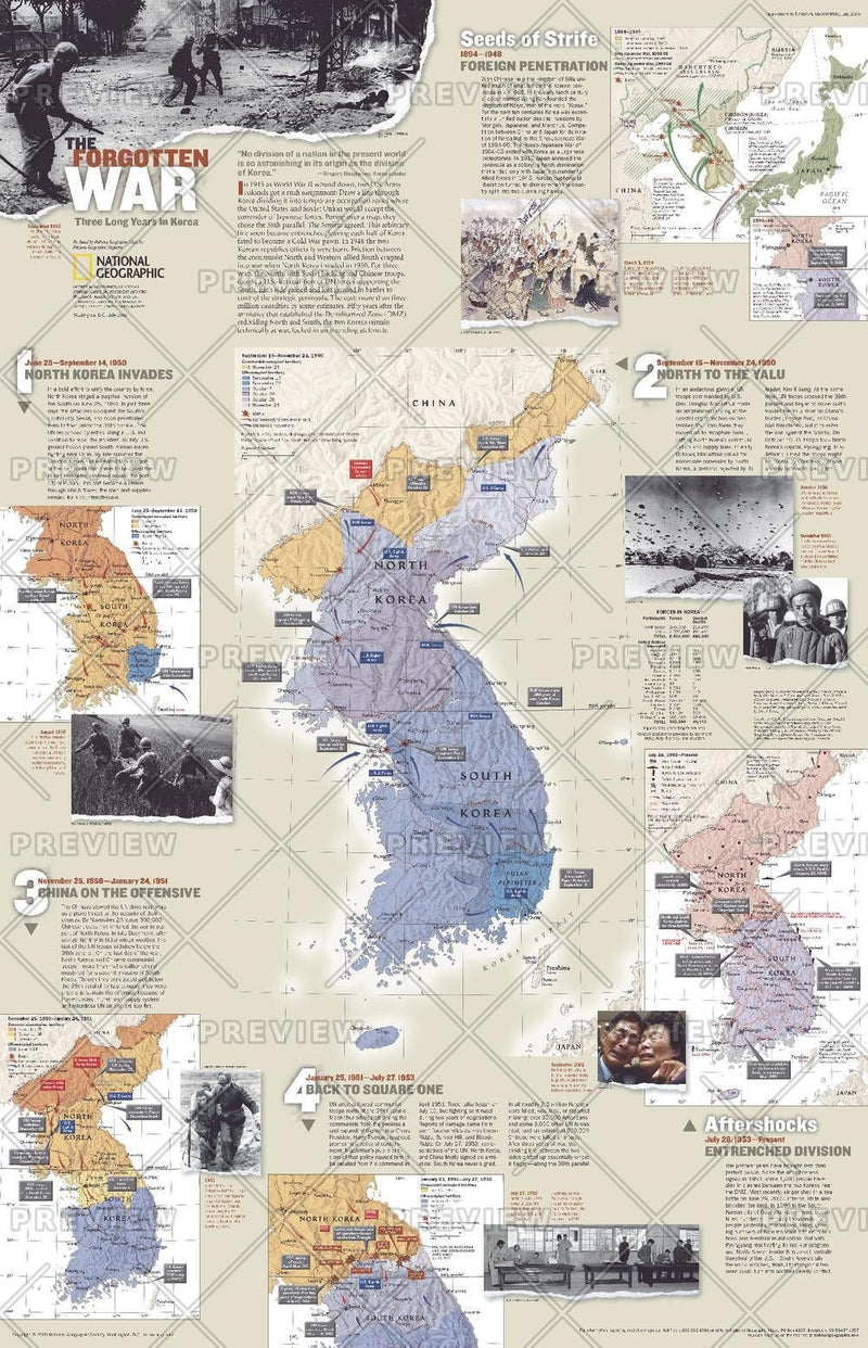 The Forgotten War, Three Long Years in Korea - Published 2003