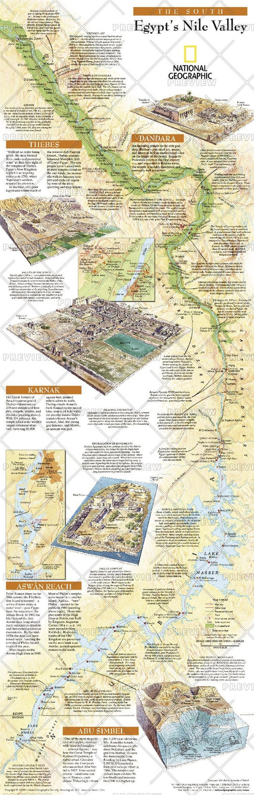 Egypts Nile Valley South  -  Published 2005