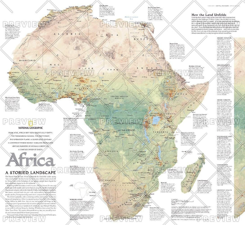Africa, A Storied Landscape  -  Published 2005
