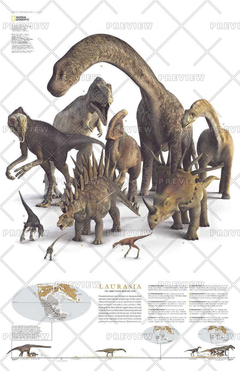 Planet of the Dinosaurs Laurasia - Published 2007