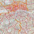 London Postcode District Map D7 - Central London
