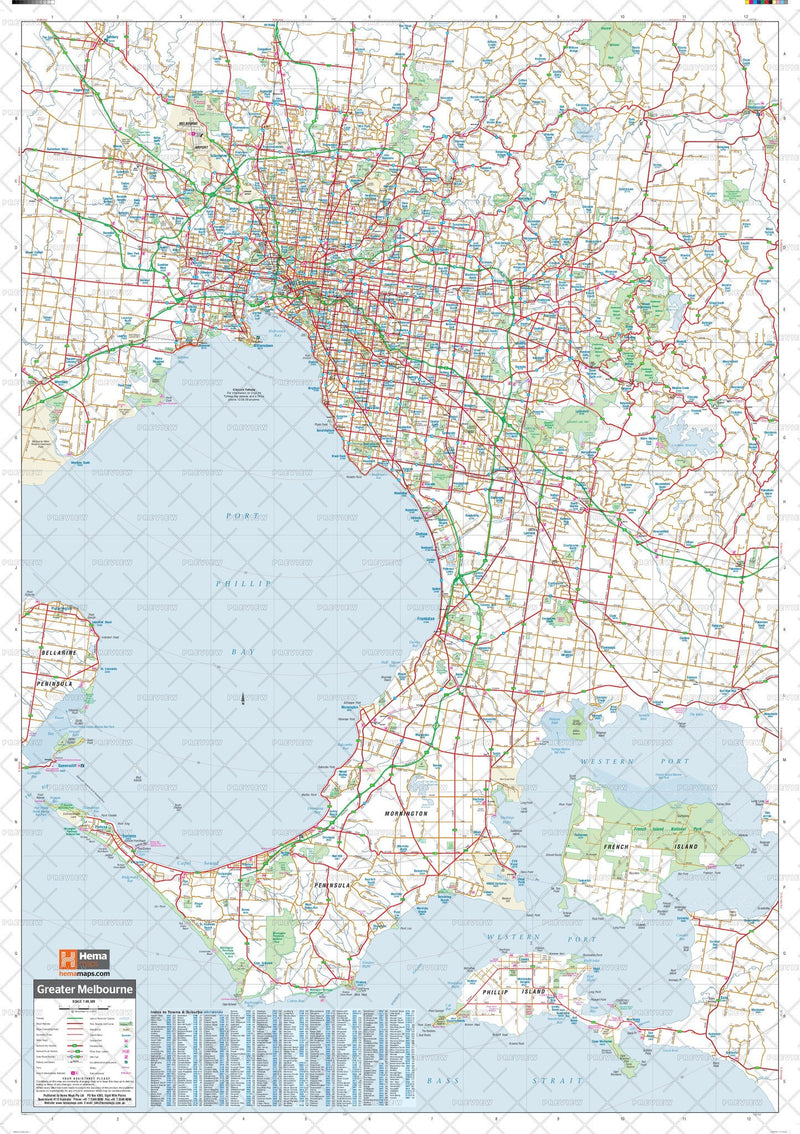 Melbourne & Region Supermap