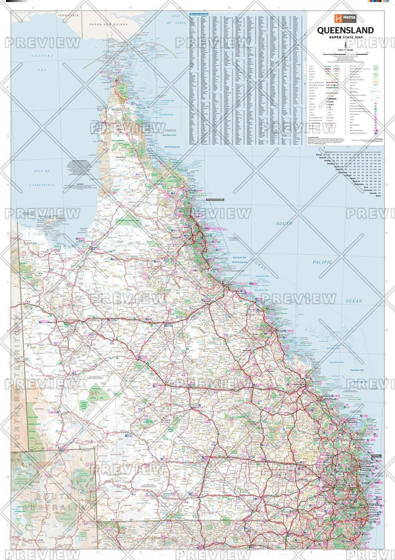 Queensland Supermap