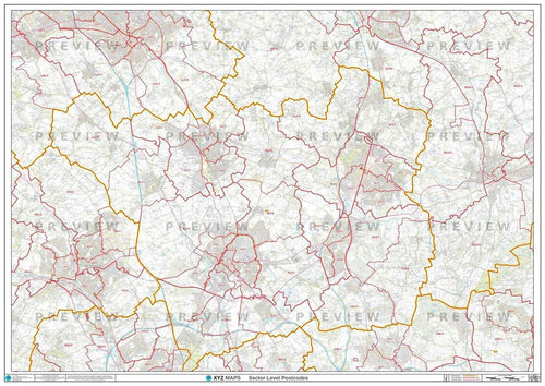 AL Postcode Map PDF or GIF Download