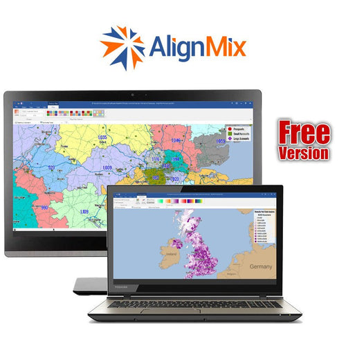 AlignMix Professional Territory Mapping Software