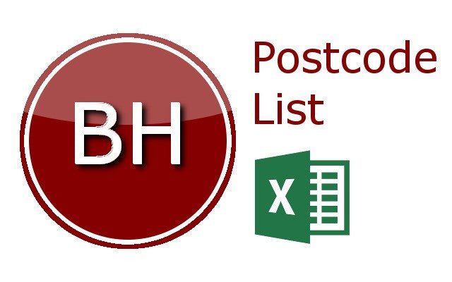Bournemouth Postcode Lists