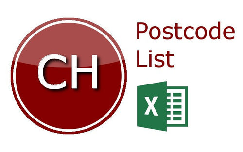 Chester Postcode Lists