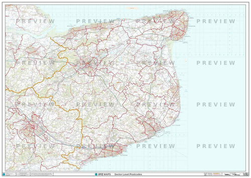 CT Postcode Map PDF or GIF Download