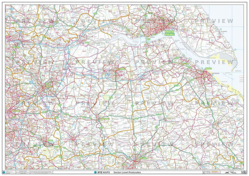 DN Postcode Map PDF or GIF Download