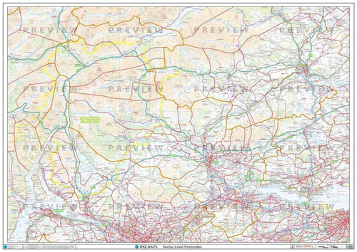 FK Postcode Map PDF or GIF Download
